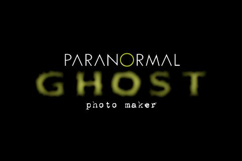 Paranormal Ghost Photo Maker