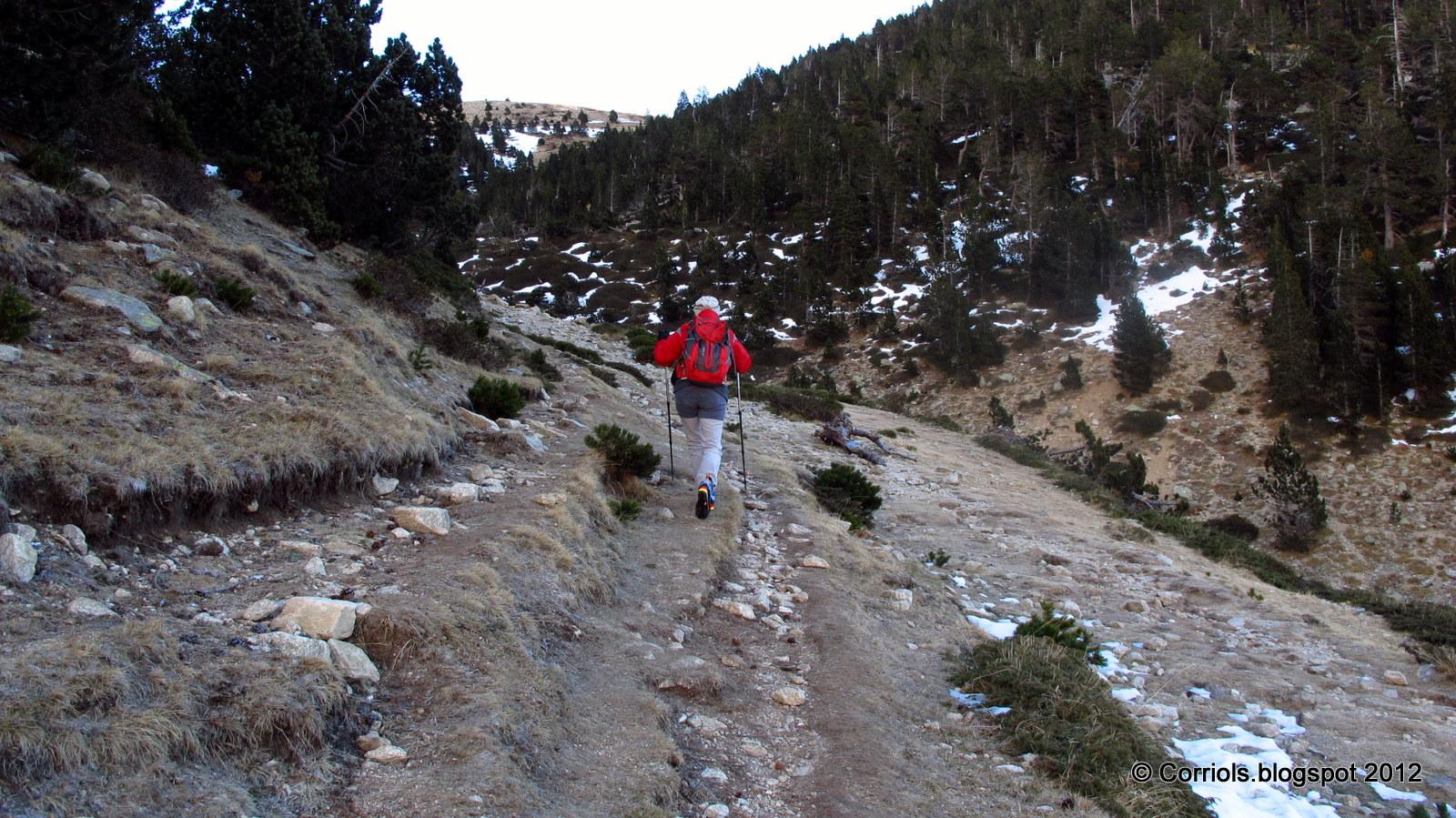 Photo: Inici del camí cap a la Portella de Mentet