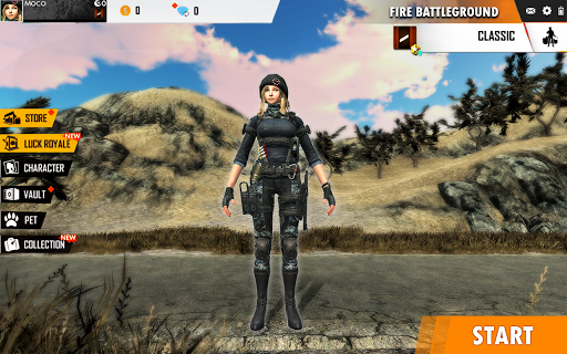 Fire Free Battleground Survival Hopeless Squad screenshot 5