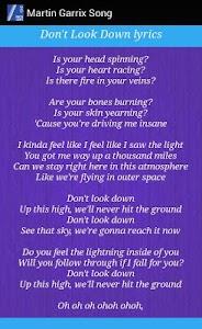 Martin Garrix Lyrics screenshot 2