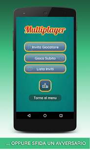 Tresette Gratis con Multiplayer- miniatura screenshot