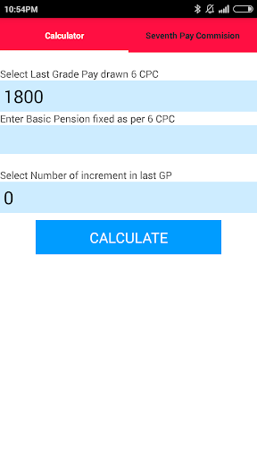 Civil OROP Calculator 7 CPC