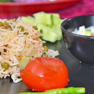 Choliya Rice (Green Chana Rice).