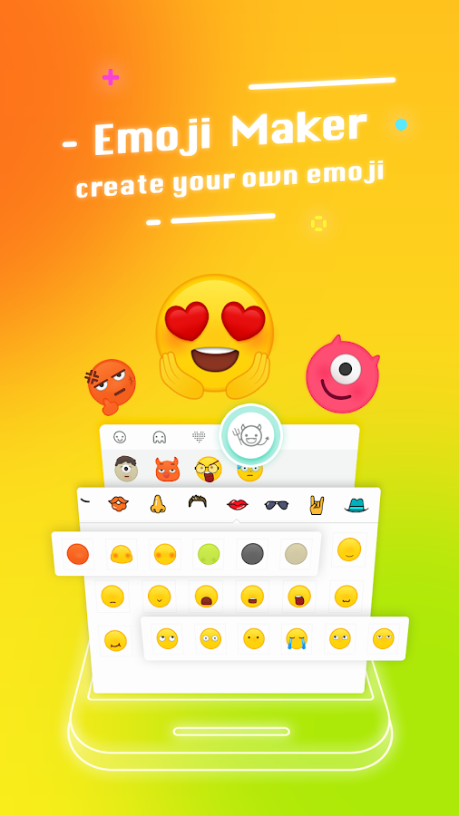 Typany Keyboard - DIY Themes, Emojis to Share- screenshot