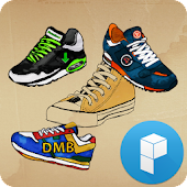 Vintage Shoes Launcher Theme