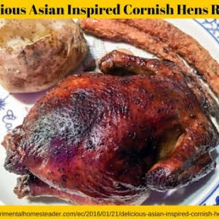 Asian Cornish Hen Recipes.