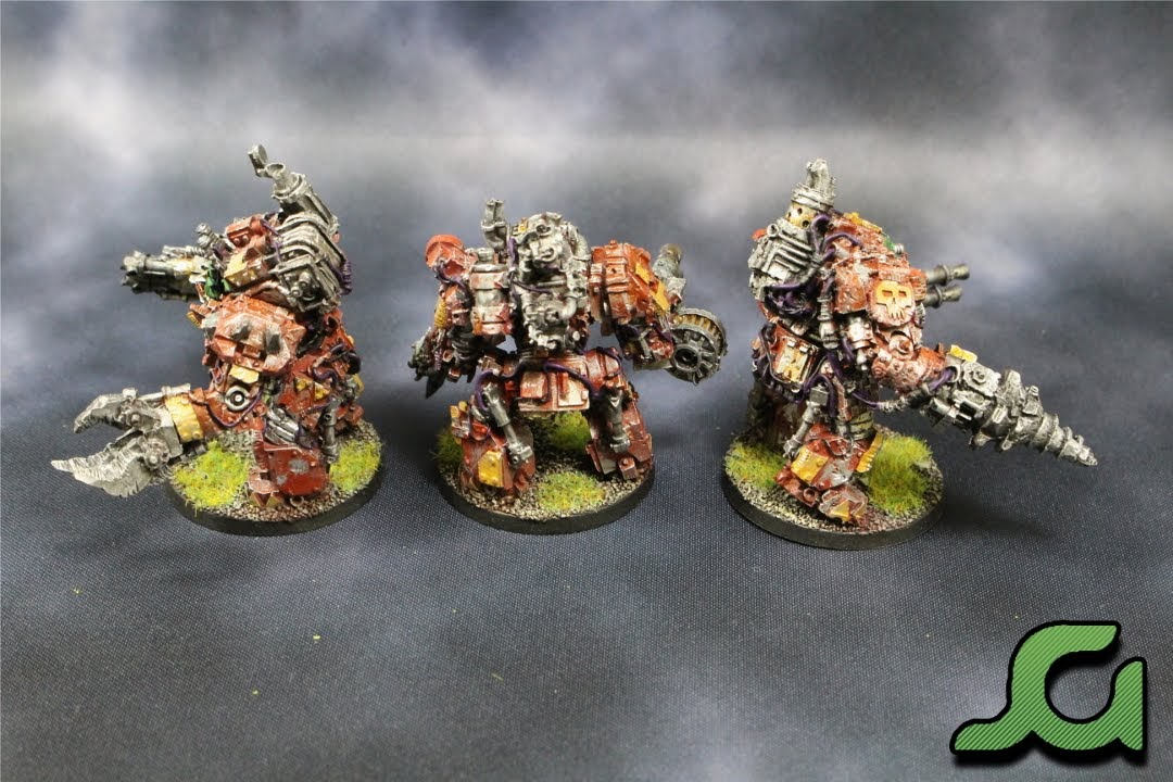 Mega Armoured Nobz Squad Purple