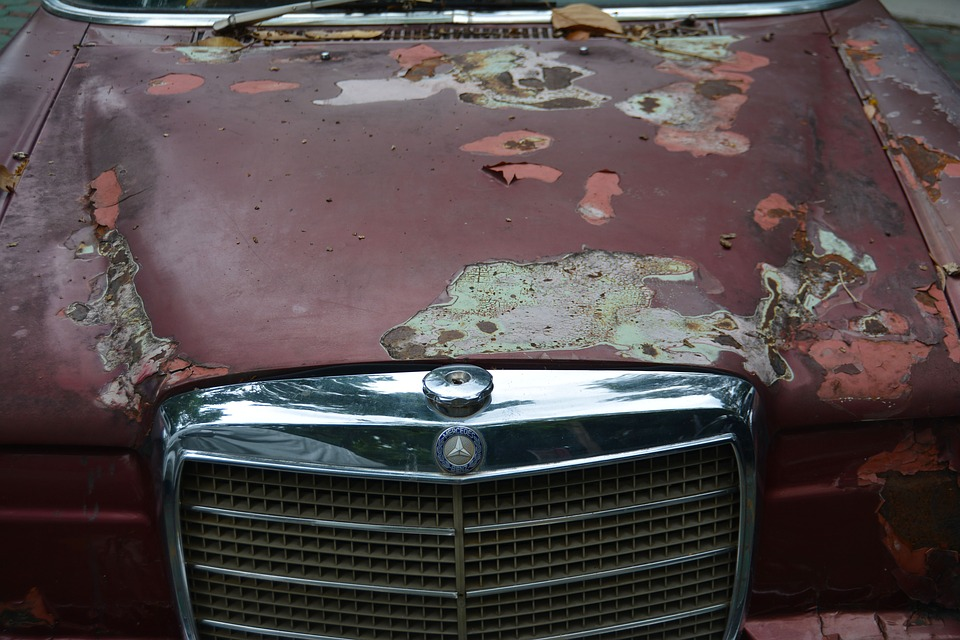 Paint is Discolored and Wearing Away: What Does it Mean?
