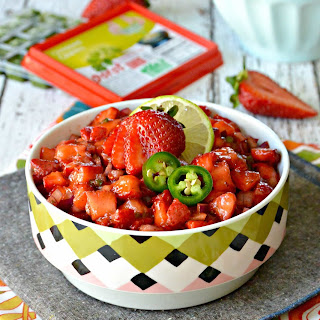 Strawberry Salsa Made Easy with Dorot.