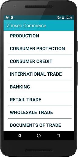 Zimsec Commerce Revision 7.0.a screenshots 1