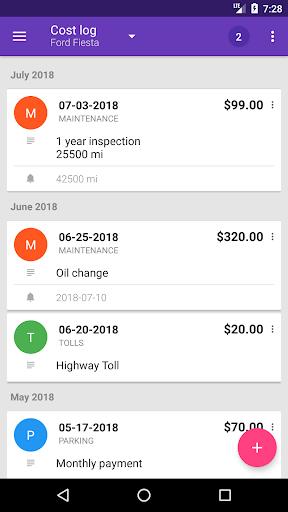 Fuelio: Gas log & costs  screenshots 5