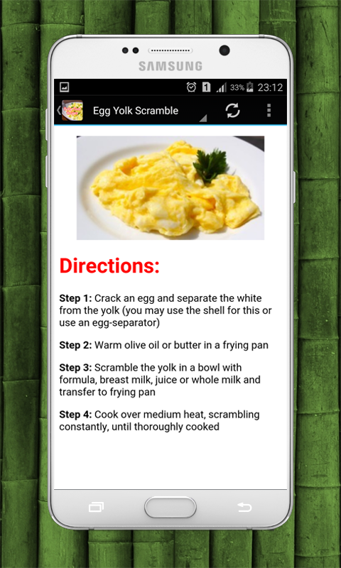 Baby food recipes android apps on google play baby food recipes screenshot forumfinder Choice Image
