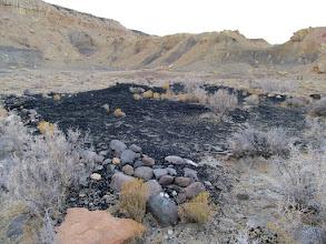 Photo: Coal pile