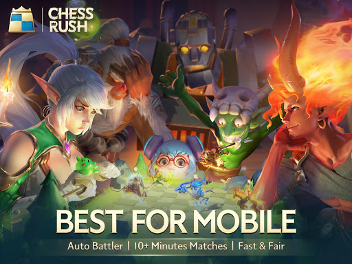 Chess Rush is awesome step from Tencent in Auto Chess games