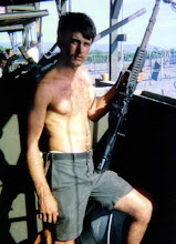 Photo: Larry Acree cleaning his M60 ?