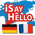 iSayHello German - French free icon