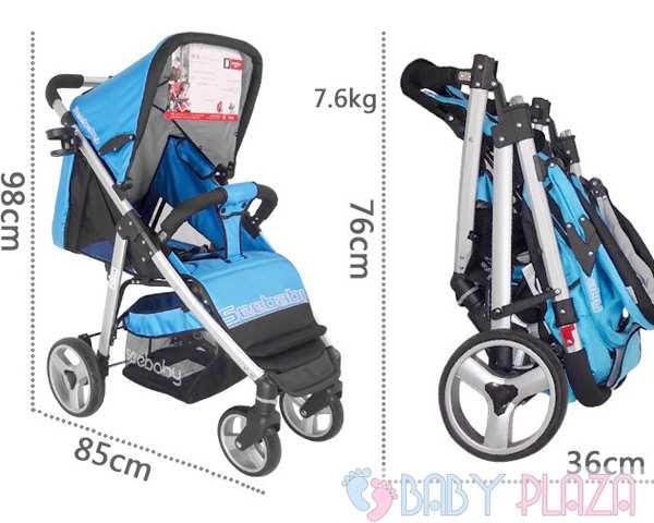 Xe đẩy em bé seebaby T10A