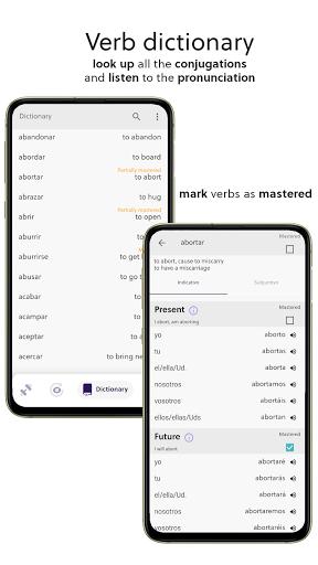 Spanish Verb Trainer: Learn verb conjugations screenshot 4