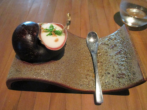 River Snail at Maido