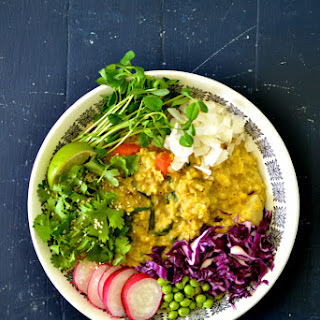 Early Summer Kitchari Bowl