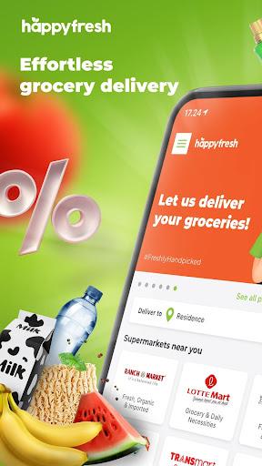 HappyFresh u2013 Groceries, Shop Online at Supermarket Apk 1