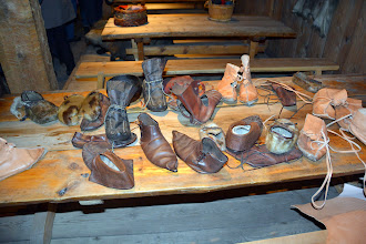Photo: Typical northern footware