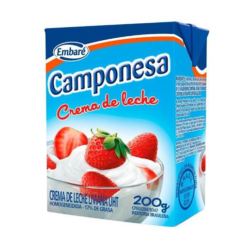 crema de leche camponesa 200 gr