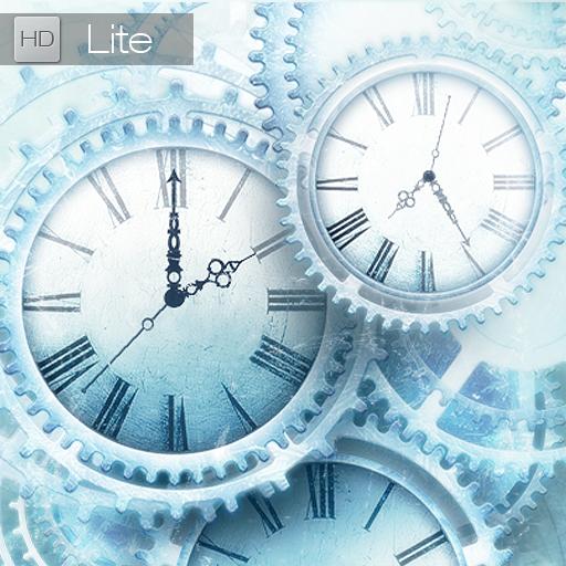 FREE Ice world time clock HD