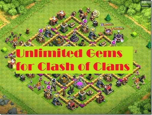 Unlimited Gems for Clash of Clans for PC