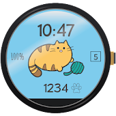Fit Cat - Watch Face