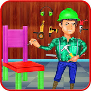 Game Build The Furniture Simulator: Table Chair Making apk for kindle fire