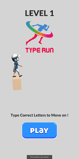 Type to Run - Fast Typing Game modavailable screenshots 1