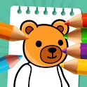 Kids Coloring & Kids Drawing – Coloring Book icon