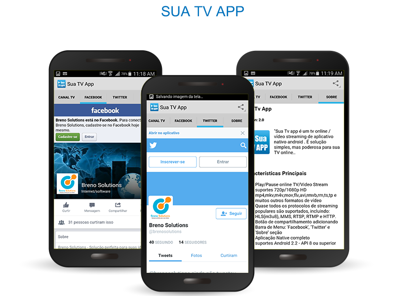 Sua Tv App- screenshot