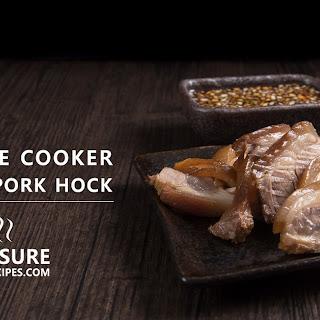 Pressure Cooker Braised Pork Hock 萬巒豬腳 Recipe