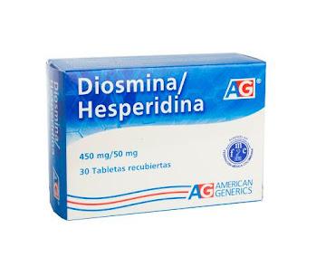 Diosmina/Hesperidina Ag   450/50Mg Tabletas Caja X30Tab.
