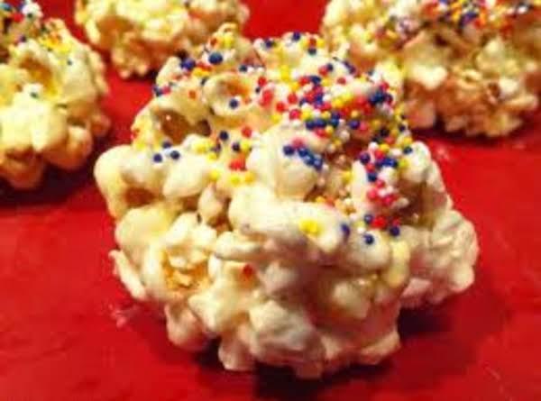 Jingle Bell Popcorn Balls