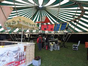 """Photo: Disco Beer Garden Tent - where are """"Head over Heels""""?"""