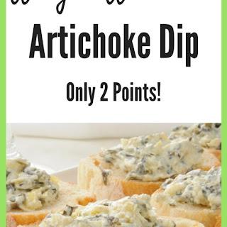 Weight Watchers Slow Cooker Artichoke Dip Recipe