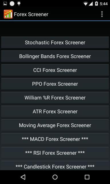 Forex screening software