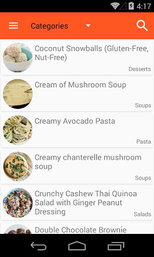 Vegan Recipes Free Screenshot