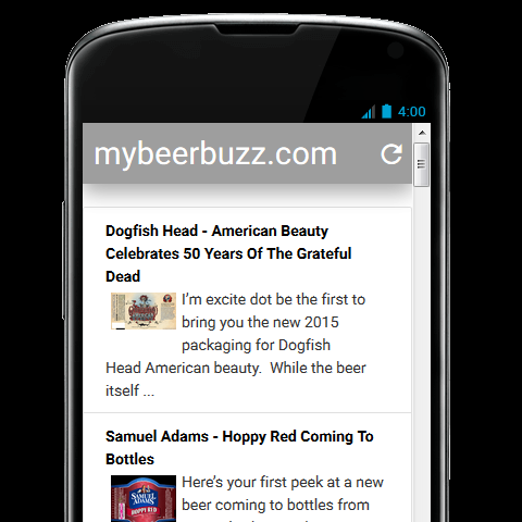 mybeerbuzz- screenshot