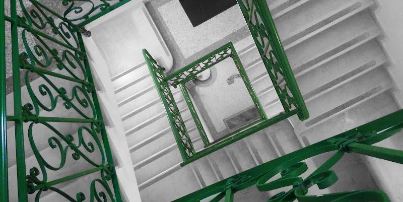 Corrimano verde di Uomoz
