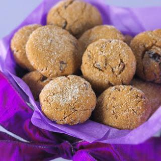 Crackle-Top Gingerbread Date Cookies