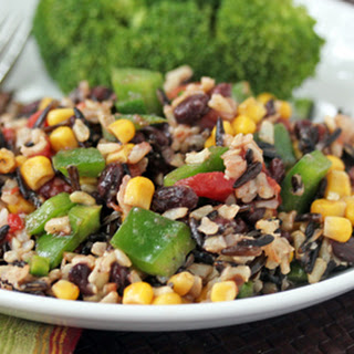 Southwest Wild Rice Pilaf