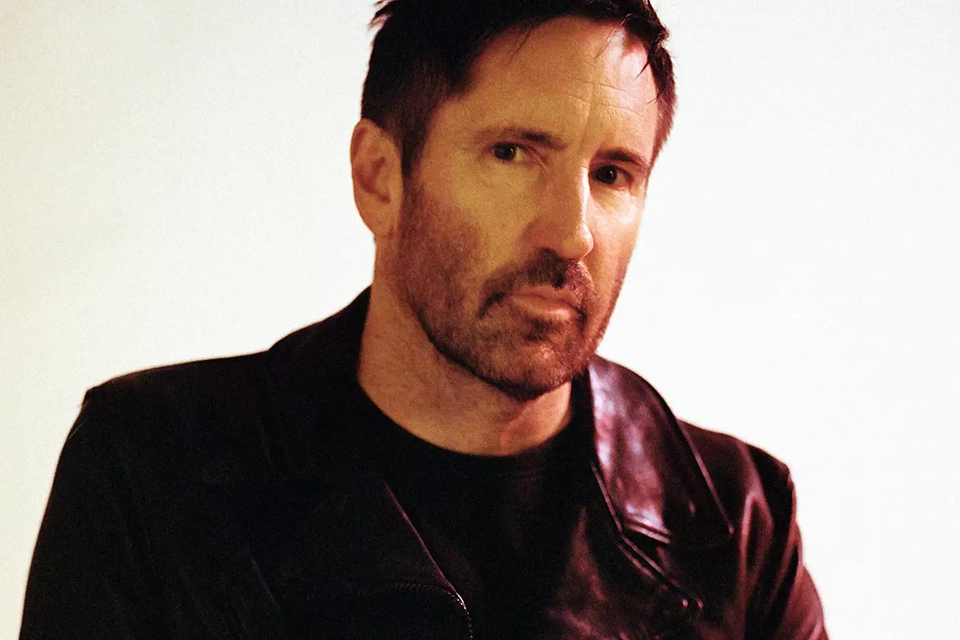 A photograph of Trent Reznor