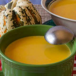 Crab Cauliflower Bisque Gluten-Free Low-Carb.