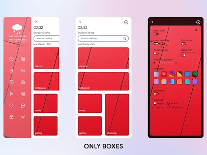 Only Boxes For KLWP Apk 2.2012.JULY.20 [Patched] 1