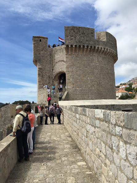 ドゥブロヴニク旧市街 ミンチェッタ要塞