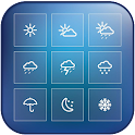 weather radar map icon